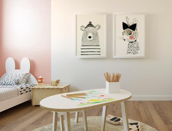 מיטת ילדים מעץ, ריהוט לחדרי ילדים, מיטות מעץ לילדים, עיצוב חדרי ילדים, מיטה לילדים, מיטה בצורת ארנב, עיצוב פנים לחדרי ילדים, קידזו