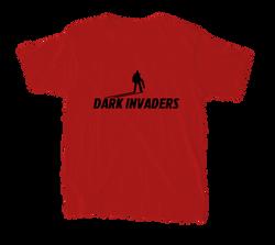 Invaders T-shirt vermelho