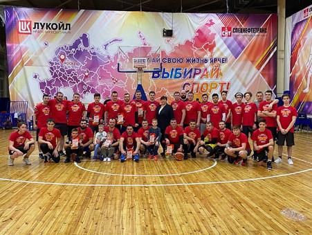 В Покачах прошёл турнир выпускников баскетбола.