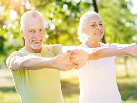 Комплекс физических упражнений для старшей (пожилой) возрастной группы: м. 61-75 лет, ж. 56-75 лет