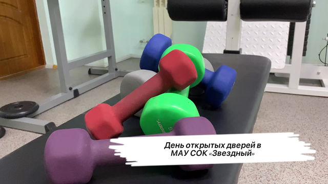 """День открытых дверей МАУ СОК """"Звездный"""""""