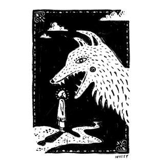 Lupo // Natalie Vukic — Illustration