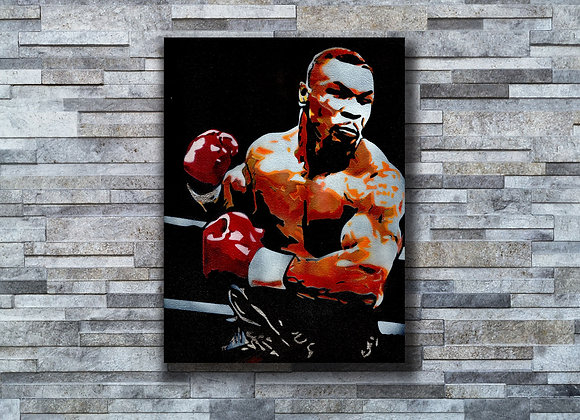 MikeTyson Original painting on Canvas board