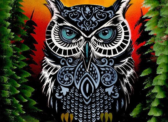 810 Owl totem