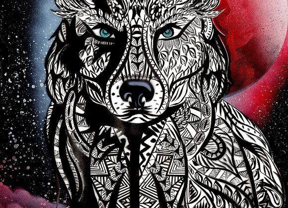 803 Wolf tótem