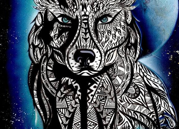 803 Wolf totem