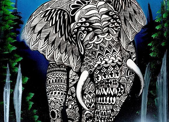 814 Elephant totem