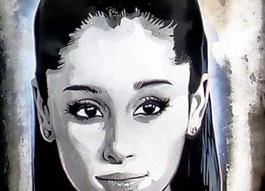 Ariana Grande Original Canvas Painting
