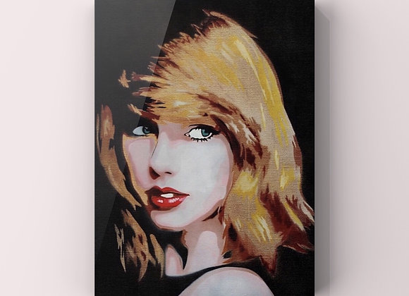 Taylor Swift Canvas Painting 2 pieces (Original)