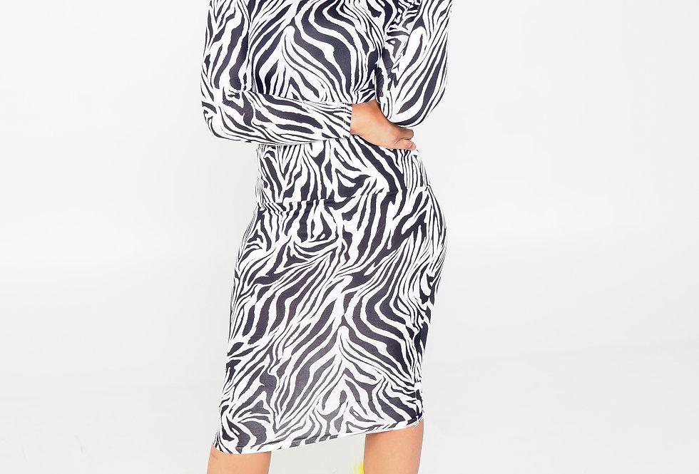 Wild Thang | Two-Piece Skirt Set