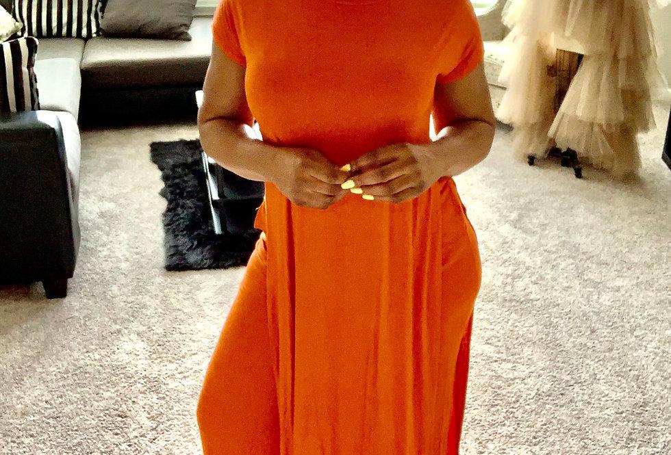 Orange You Classy | Pant Set