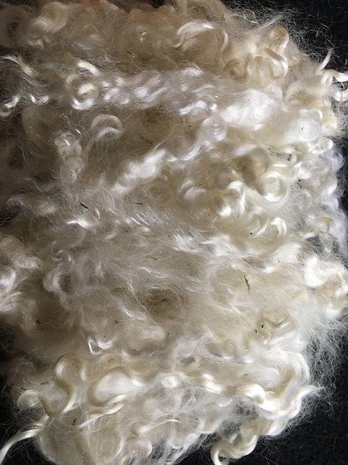 Mohair - Angora Goat  - white 2 pound