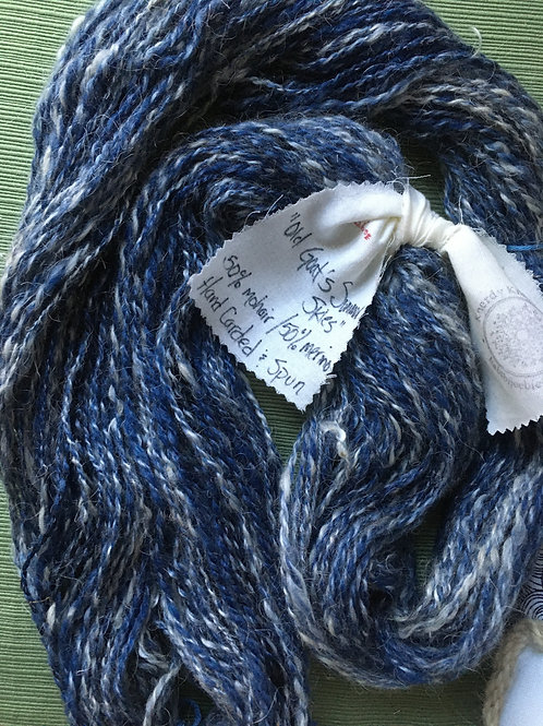 Old Goat's Summer Skies - mohair and merino