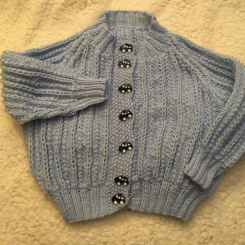 Hand Knitted Baby Outfit 6 months