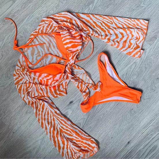 3-piece Oranger Tiger