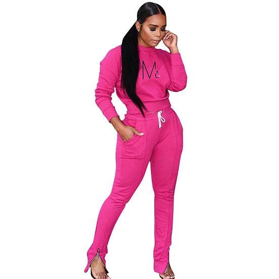 McCoy prettie Pink Kandi 2-piece Tracksuit