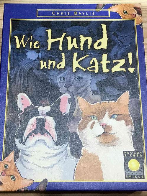 中古・和訳なし わんニャン物語 Wie Hund und Katz!
