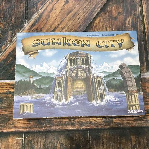 中古・和訳なし 湖に沈んだ街  Sunken City