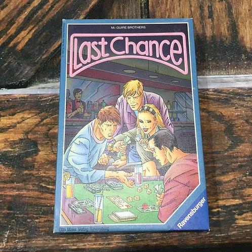 中古・和訳なし|ラストチャンス Last Chance