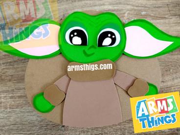 Caja sorpresa Yoda 😍