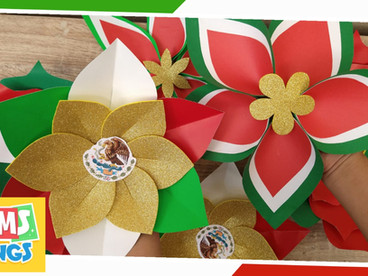 Adornos Fiestas Patrias 🇲🇽/ Flores Tricolor/ Decoraciones Fiestas Patrias Mexicanas