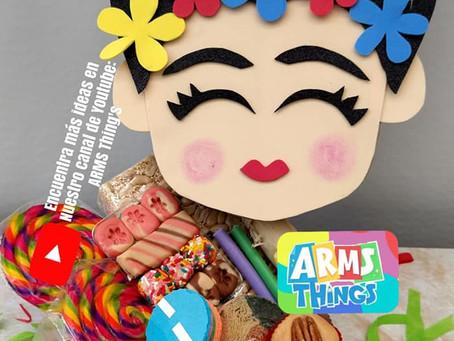 Cajita 15 de Septiembre Frida Kahlo.✨// Hazlo tu mismo ❤️