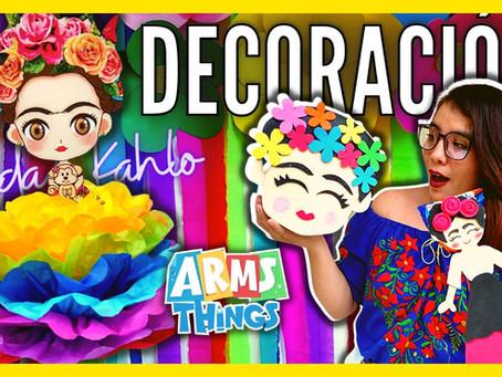 DIY: Fiesta temática FRIDA KHALO / FIESTAS PATRIAS MEXICANAS / fiesta temática ✨// Hazlo tu mismo ❤️