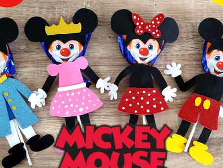 Paletas Payaso decoradas // Mickey Mouse // Paletas Payaso Decoradas para niños // día del niño