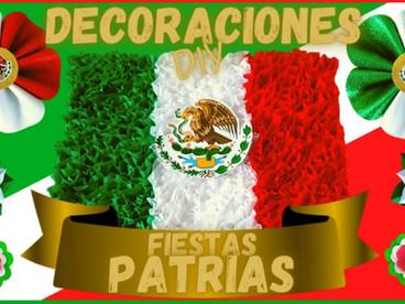DIY: Decoraciones Fiestas Patrias Mexicanas