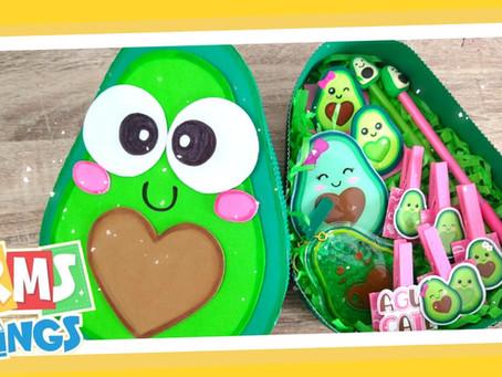 Caja de regalo Aguacatito // Regalos fáciles // Caja sorpresa Aguacate