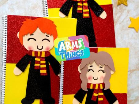 Cuadernos Decorados Harry Potter✨// Hazlo tu