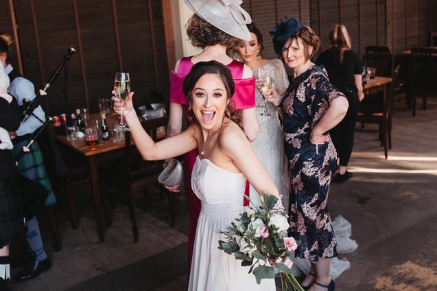 Edinburgh glasgow wedding photographer