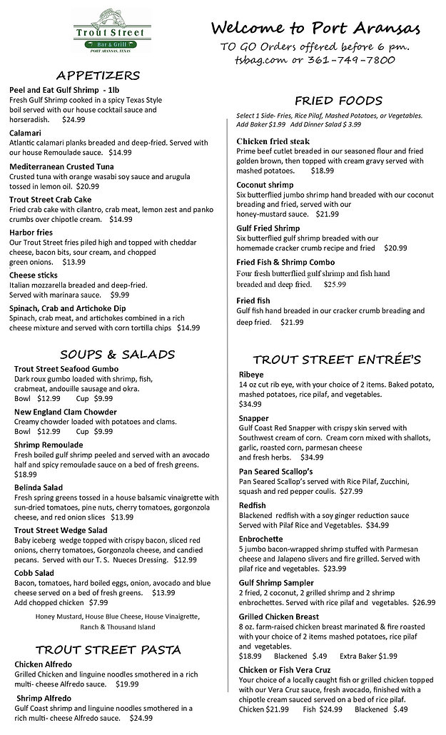 TROUT LIMITED MENU.jpg