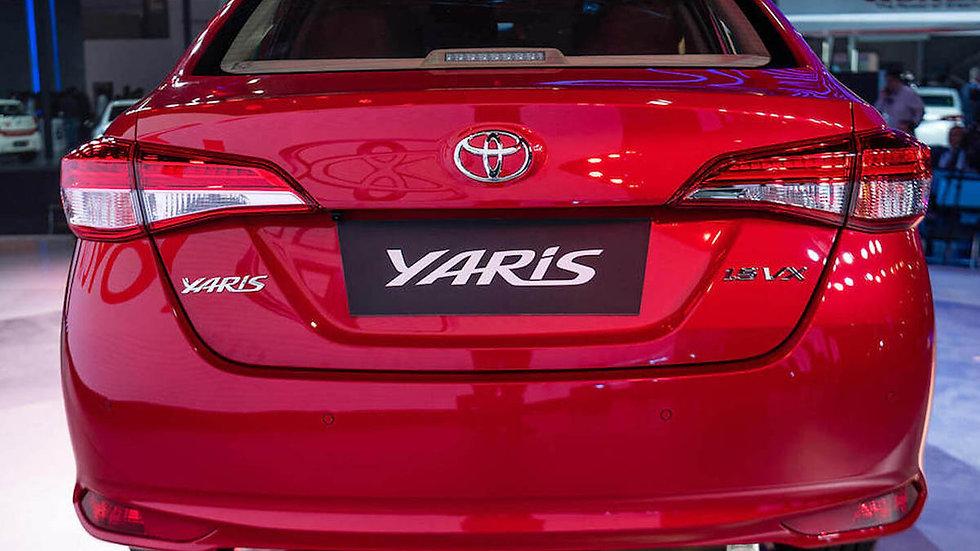"Ponteira 3"" Reta Grau Toyota Yaris Sedan"