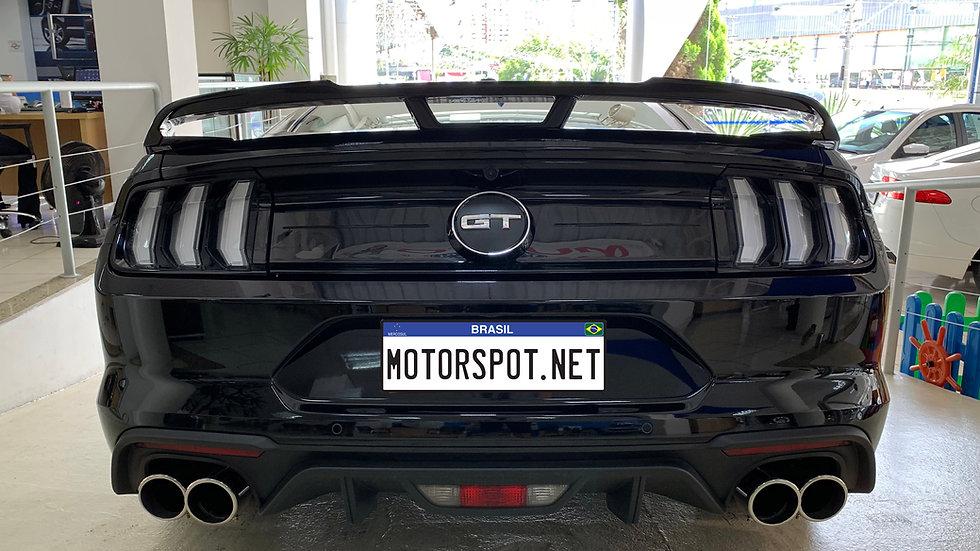 Ponteiras Ford Mustang GT 2018 2019 4 Polegadas INOX 304