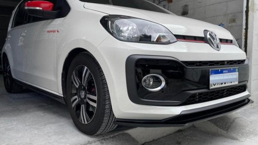 Front Lip Volkswagen UP! Pintado (Preto Fosco ou Brilhante)