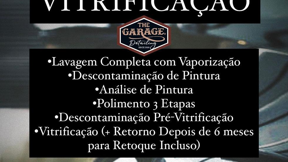PROMOÇÃO VITRIFICAÇÃO CARROS PEQUENOS E MÉDIOS