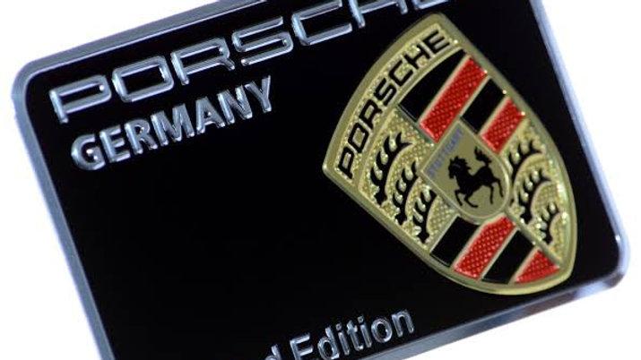 Emblema Porsche Limited Edition