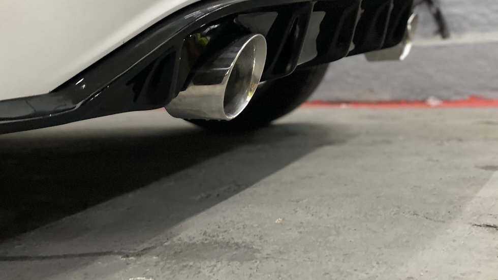 Difusor Traseiro +2 Ponteiras 3.5 MANGA Volkswagen Polo TSI MSI