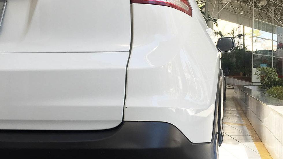 """Ponteira 3"""" Chanfrada Redução 2.5"""" Inox 304 Honda CRV"""