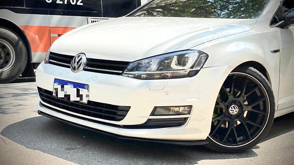 Front Lip Volkswagen Novo Golf TSI MK7