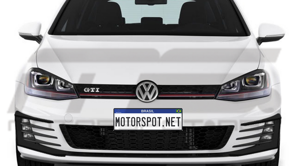 Par de CANARDS Volkswagen Golf GTI MK7