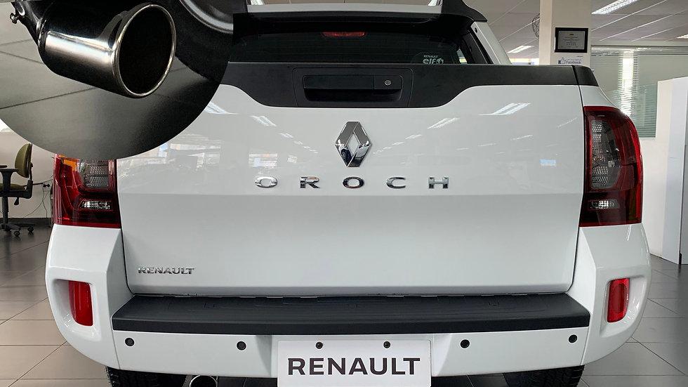 """Ponteira Renault Oroch Reta Grau Entrada 2"""" Inox 304"""