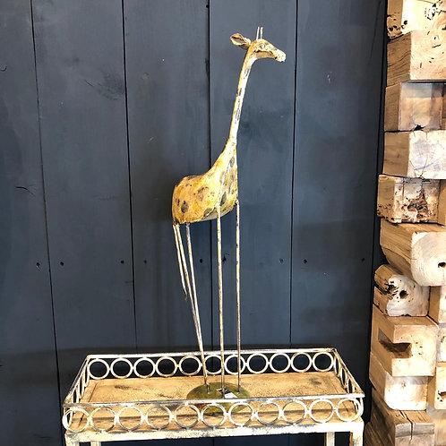 Girafe en métal moyen modèle