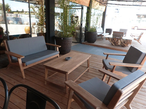 Salon de jardin en Teck NEW JARI
