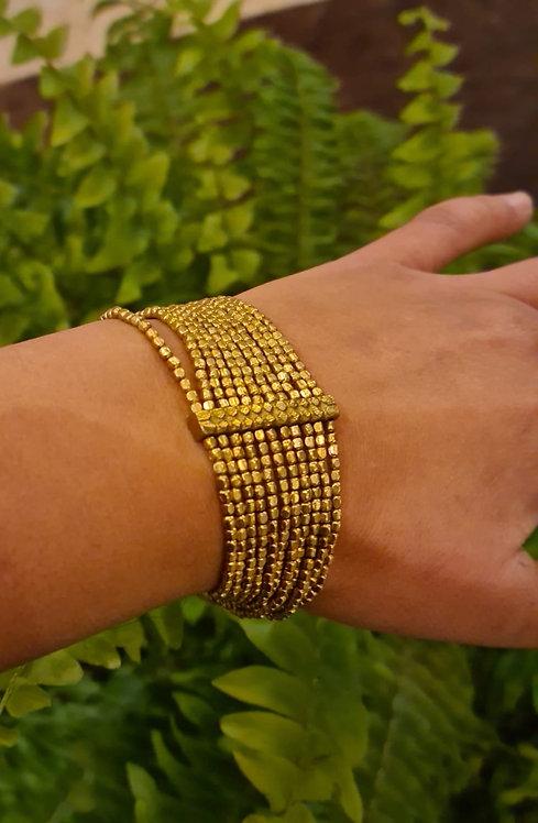 Bracelet barre en laiton