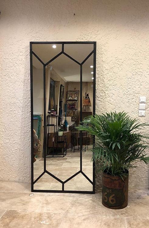 Miroir atelier métal noir