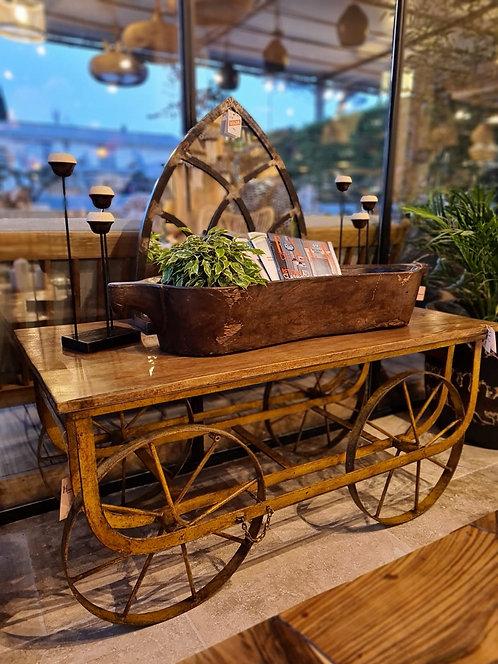 Table basse sur roues