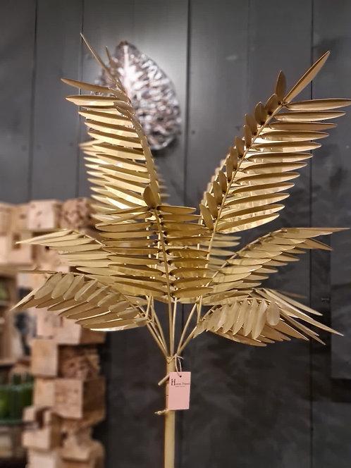 Lampe métal palmier