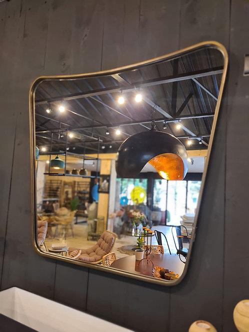 Miroir en métal RETRO grand modèle